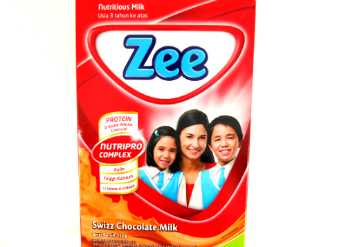 review gratis tester Zee Swizz Chocolate Milk gratis