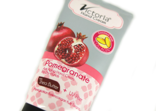 Victoria Hand Cream Pomegranate