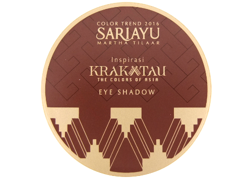 Sariayu Color Trend 2016 Inspirasi Krakatau Eye Shadow