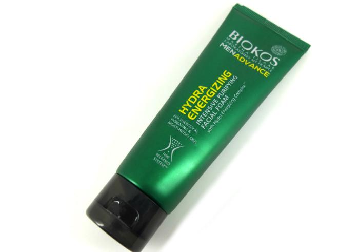 review gratis Biokos Men Advance Hydra Energizing Facial Foam