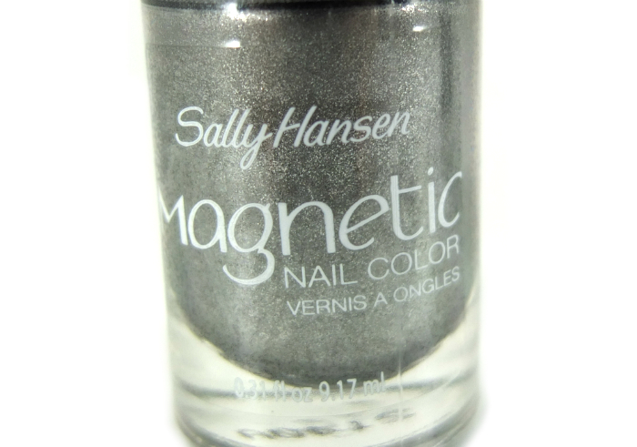 review gratis Sally Hansen Magnetic Nail Polish Silver Elements