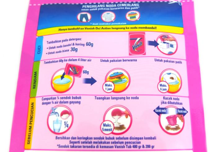 review gratis Vanish Powder Oxi Action