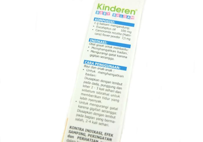 review gratis Kinderen Baby Balsam