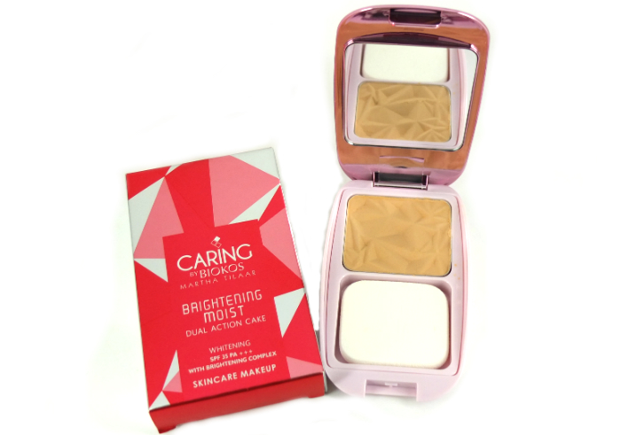 review gratis Caring By Biokos Advanced Hydra Protection Dual Action Cake Brightening Moist