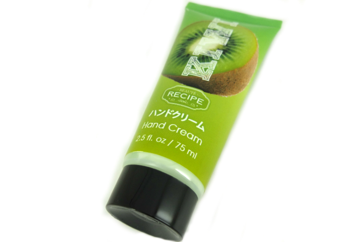 Beaute Recipe Hand Cream Kiwi