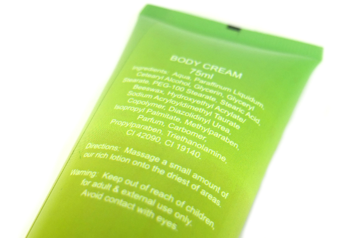review gratis Beaute Recipe Hand Cream Kiwi