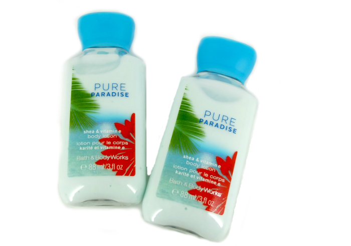 review gratis Bath & Body Works Body Lotion Pure Paradise