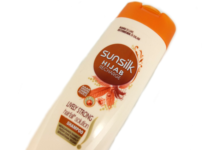 review gratis Shampo Sunsilk Hijab Recharge Hairfall Solution