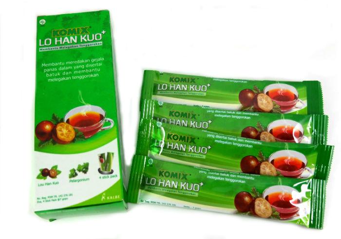 review gratis Obat Herbal Komix Lo Han Kuo