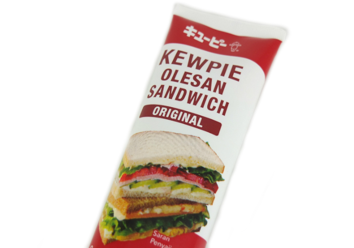 review gratis KEWPIE Olesan Sandwich Original