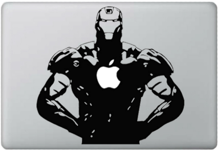 review image Sticker KATZEdecal Macbook Decal