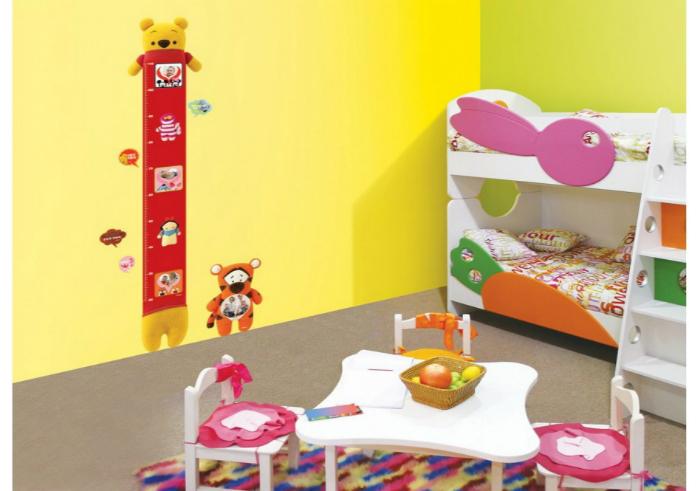 review gratis Stiker Dinding Tall Pooh Interior DIY