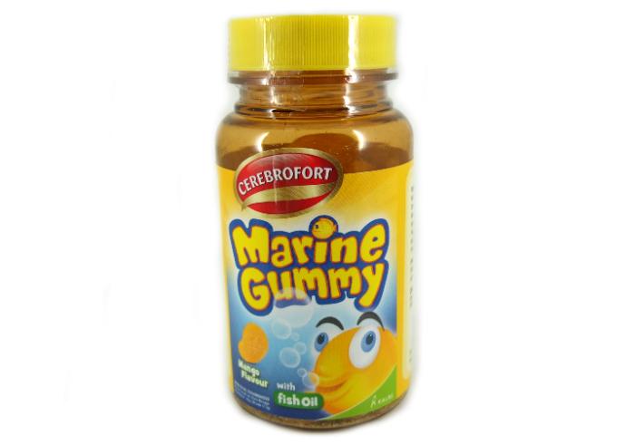 gambar Cerebrofort Marine Gummy Mango gratis