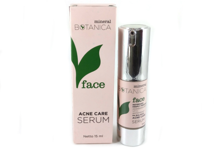 review gratis Mineral Botanica Acne Care Serum