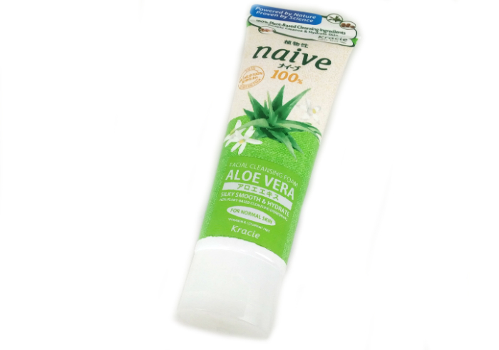 picture of Kracie Naive Facial Cleansing Foam Aloe Vera