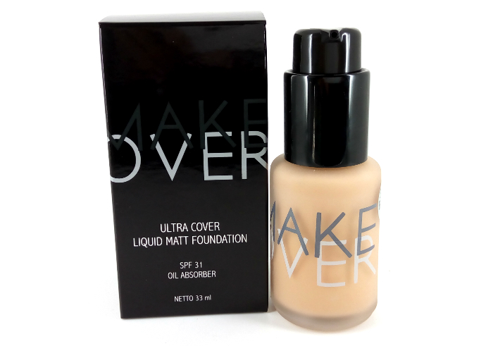 Make Over Liquid Matt Foundation Pink Shade