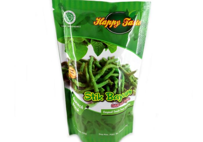 review gratis Camilan Sehat Happy Taste Stik Bayam