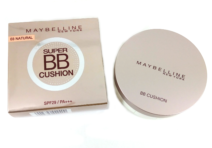 cobain Maybelline Super BB Cushion Natural