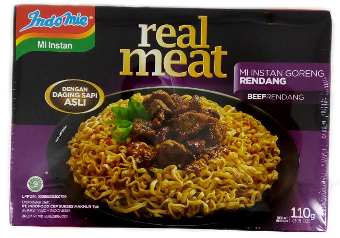 review gratis Mie Instan Indomie Real Meat