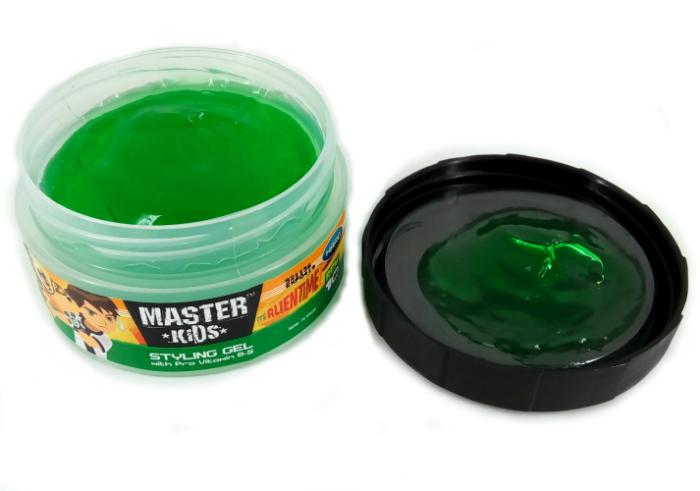 review gratis Master Kids Styling Gel Ben 10