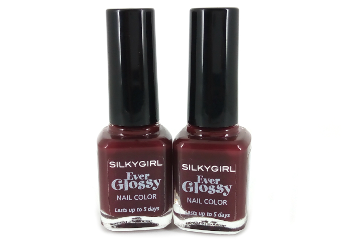 review gratis Silky Girl Ever Glossy Nail Color Royal Ruby