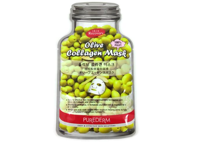 gambar Purederm Olive Collagen Mask gratis