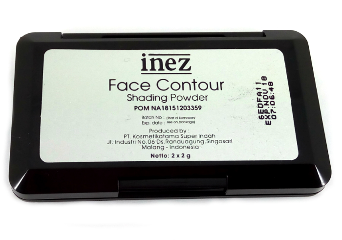 review gratis Inez Face Contour Shading Powder