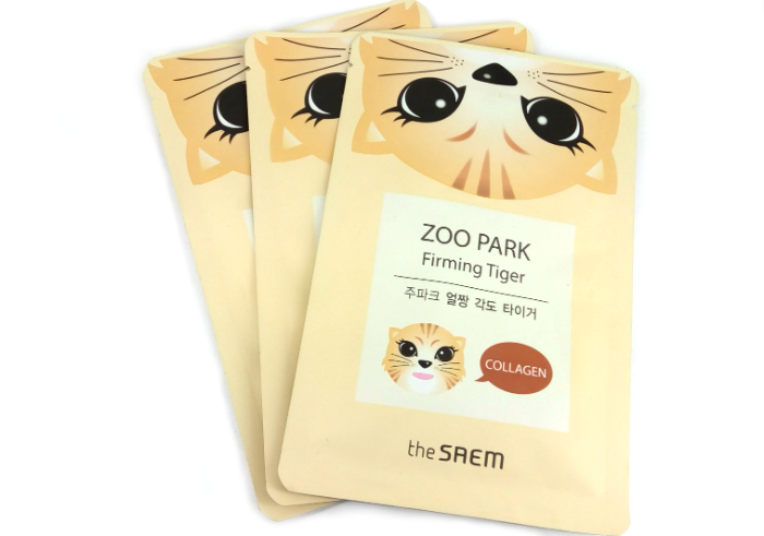 review gratis Masker Wajah The Saem Zoo Park Firming Tigger