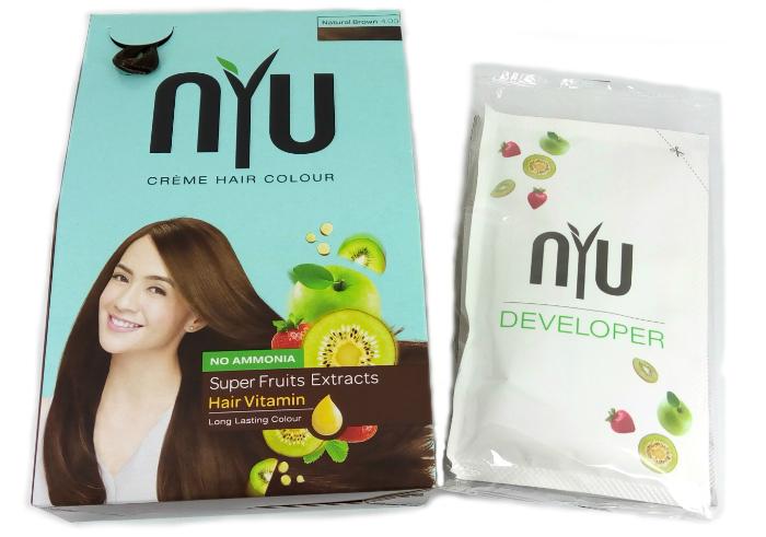 NYU Creme Hair Colour Natural Brown