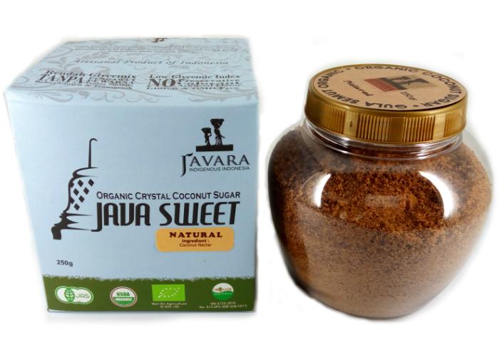 Javara Gula Semut Kristal Organik Natural