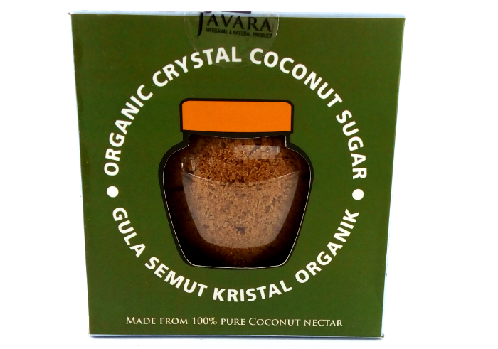 review gratis Javara Gula Semut Kristal Organik Natural