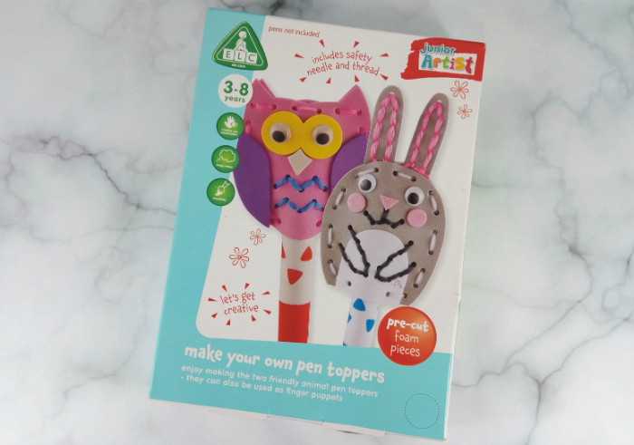 review gratis ELC Make Your Own Pen Toppers
