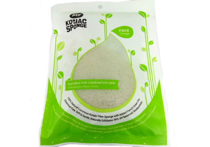 review gratis My Konjac Sponge French Green Clay