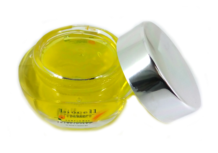 review gratis Biocell Sunflower Anti Wrinkle Night Gel