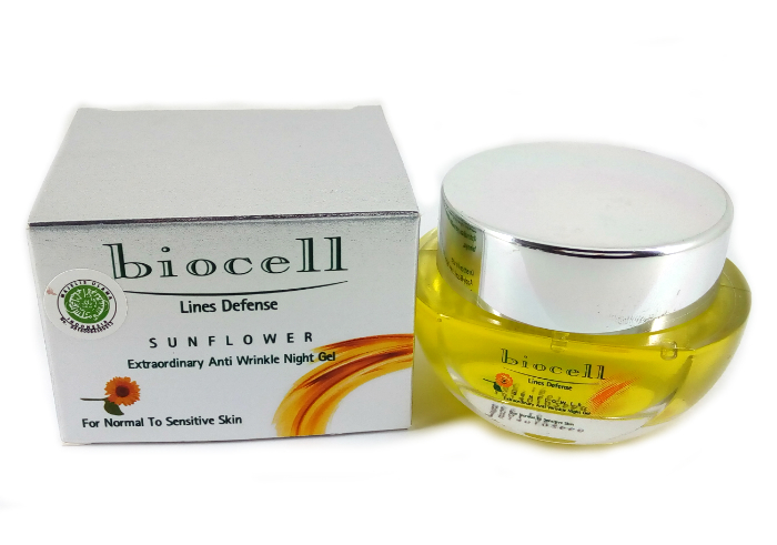 Biocell Sunflower Anti Wrinkle Night Gel