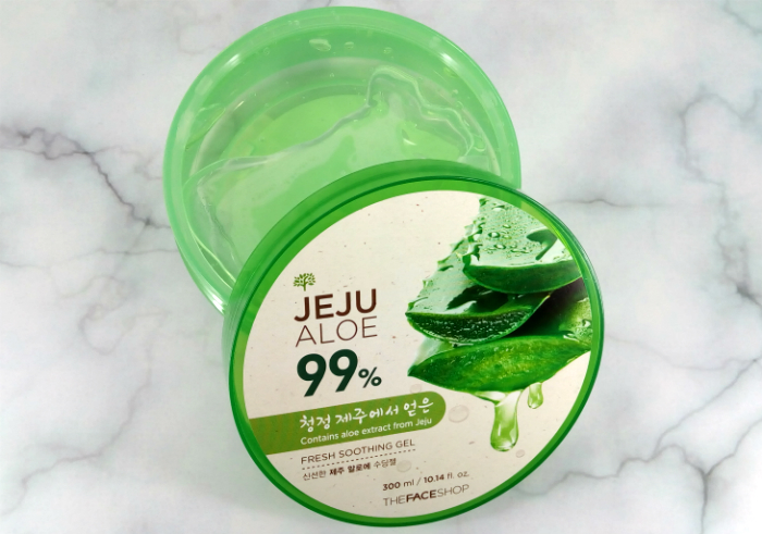 foto The Face Shop Jeju Aloe 99% Fresh Soothing Gel
