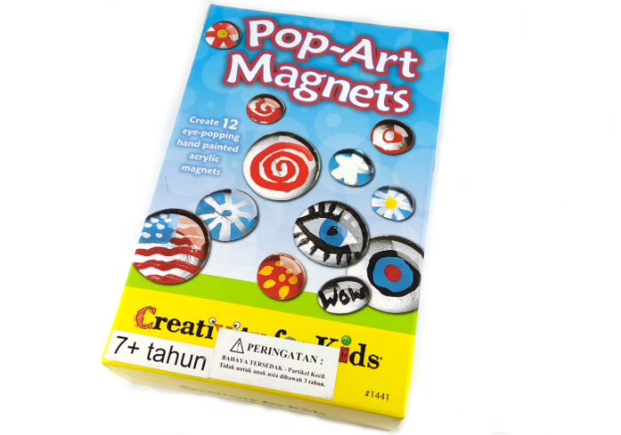 review image Faber Castel Creativity For Kids Pop-Art Magnets