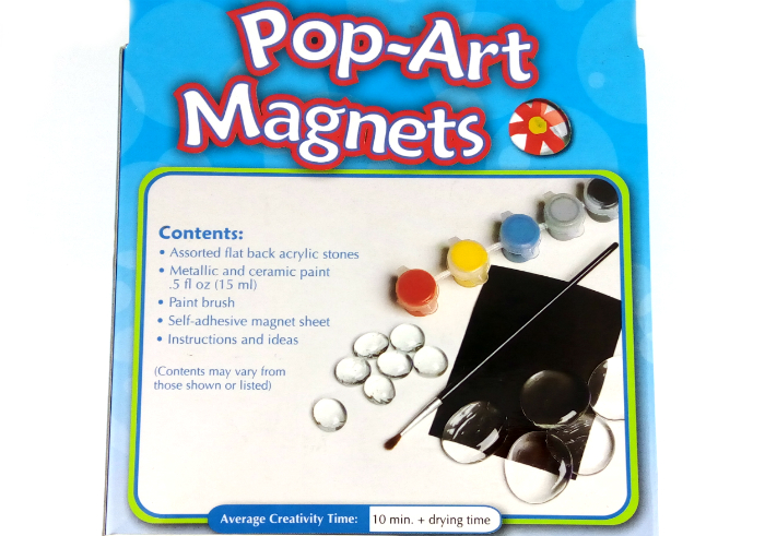 review gratis Faber Castel Creativity For Kids Pop-Art Magnets