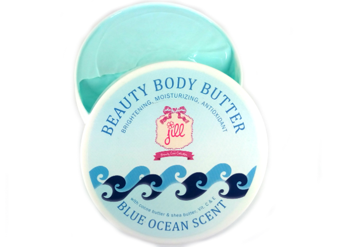 review gratis Jill Beauty Body Butter Blue Ocean Scent
