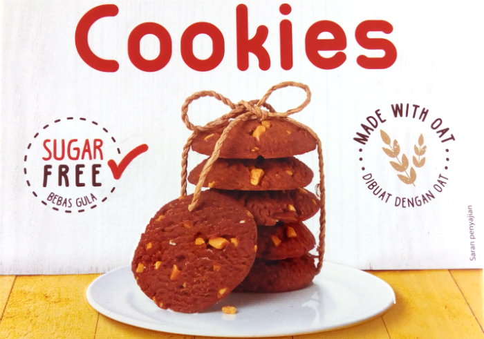 review gratis Tropicana Slim Nutty Chocolate Cookies