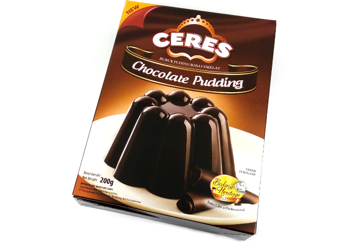 review gratis Ceres Chocolate Pudding