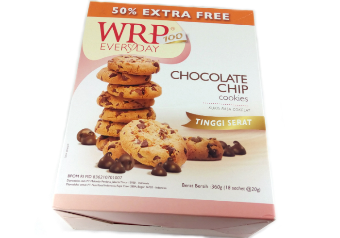 review gratis WRP Cookies Chocolate Chips