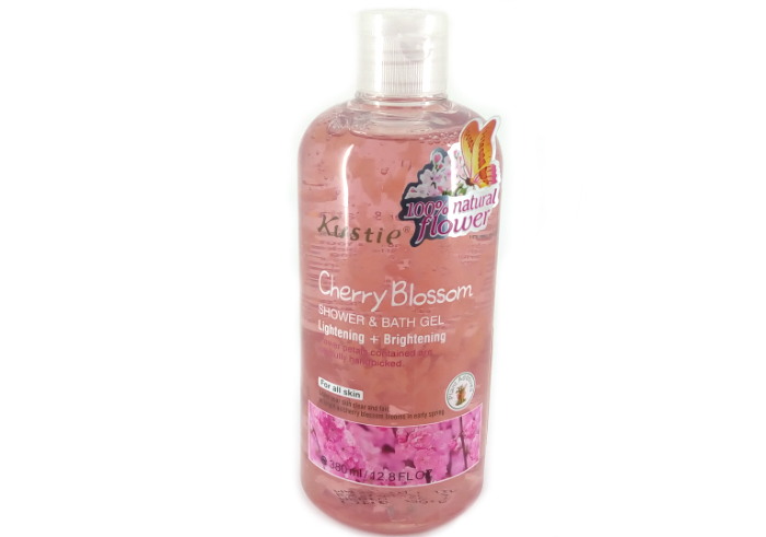 Kustie Shower & Bath Gel Cherry Blossom