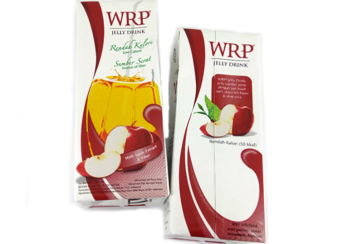 review gratis WRP Jelly Drink With Apple Extract & Fiber