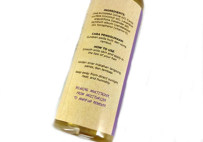 review gratis Wangsa Jelita Beauty Oil Lavender