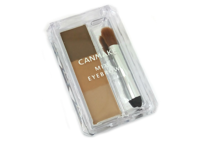 review gratis Canmake Mix Eyebrow Yellow Brown