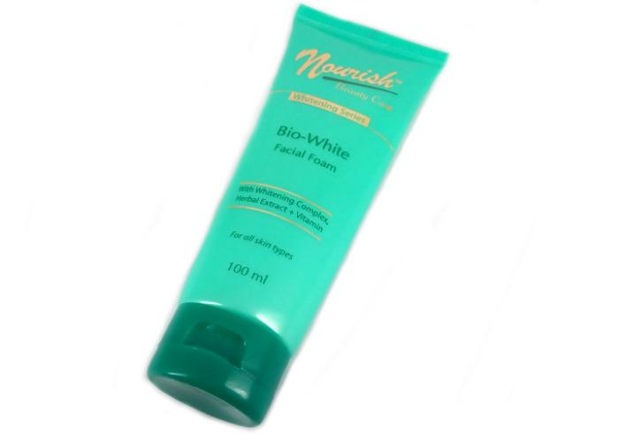 review gratis Nourish Beauty Care Facial Foam Whitening Series