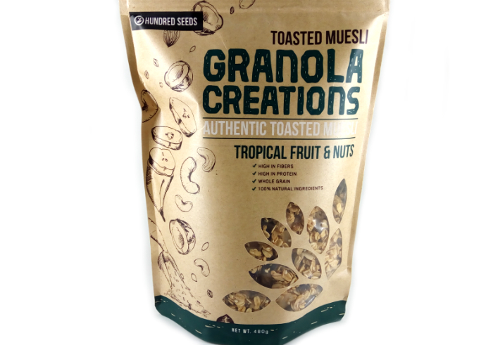 review gratis Granola Creations Toasted Muesli Tropical Fruits and Nuts