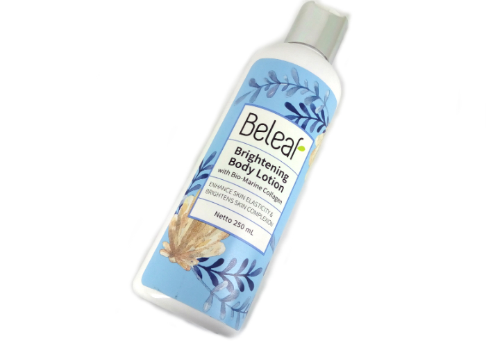review gratis Beleaf Brightening Body Lotion