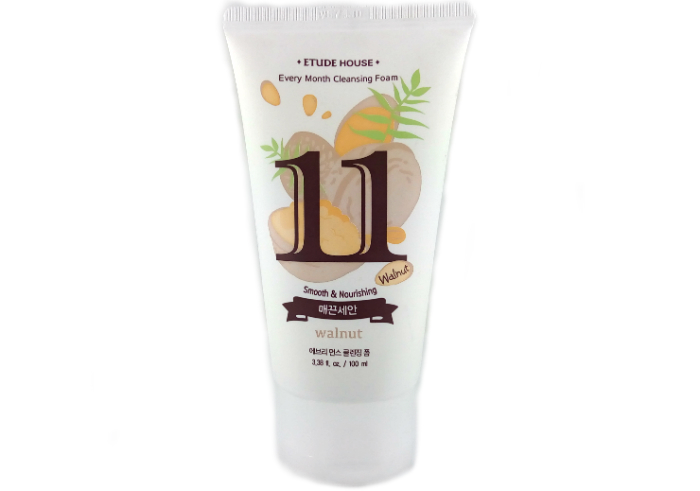 Etude House Every Month Cleansing Foam Walnut